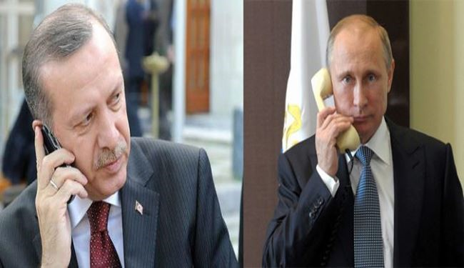 Putin, Erdogan First Conversation on Telephone: Kremlin