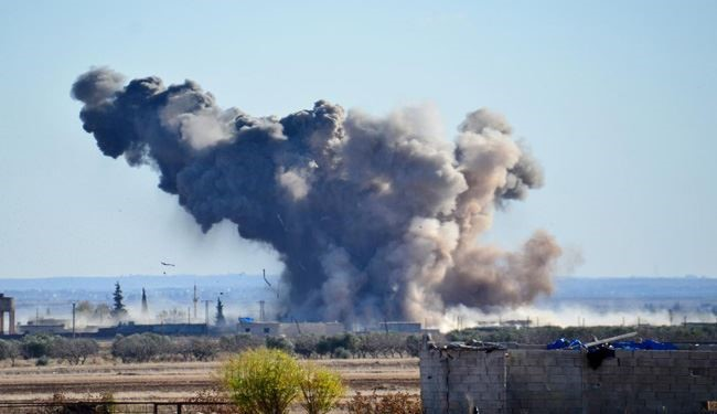 Syrian Warplanes Hit ISIS Positions Hard in Deir Ezzor