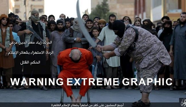 EXTREME GRAPHIC: ISIS Beheading in Raqqa Like Saudi Executions