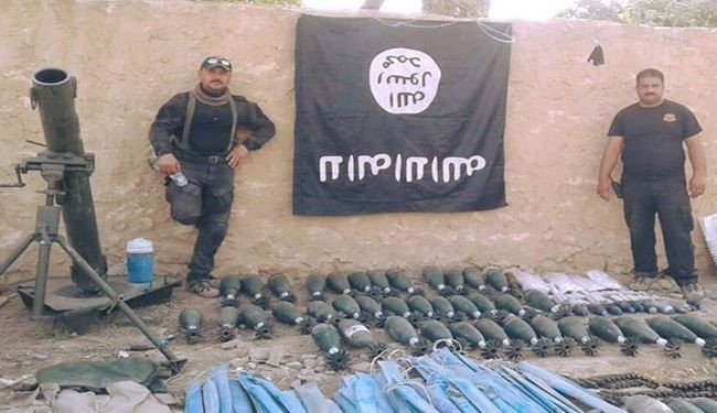 PHOTOS: ISIS Arms Depot Seized by Iraqi Army in Salahuddin Province