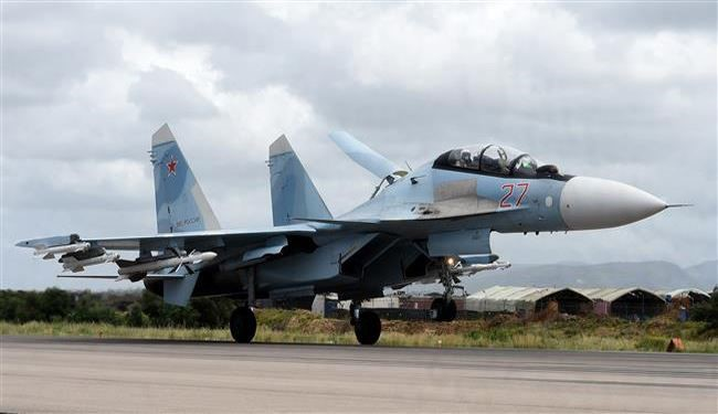 Russian Fighter Jets Target  Al-Nusra Terrorist Operation Room near Aleppo