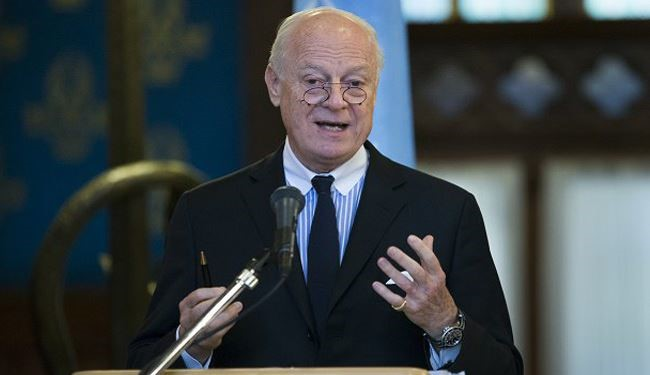 Russia-US Meeting Crucial for Syria Settlement: De Mistura