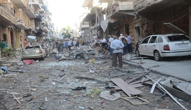 PHOTOS: Terrorists' Targets Kill Dozens of Syrian People in Aleppo