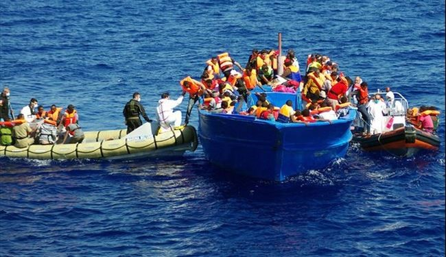Italy Says 6,000 Refugees Saved, 2 Drowned since Thursday