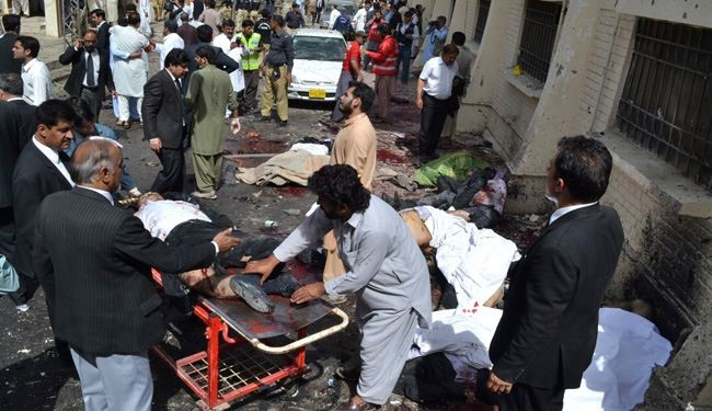Pakistani Taliban Faction Claims Hospital Blast that Killed 70