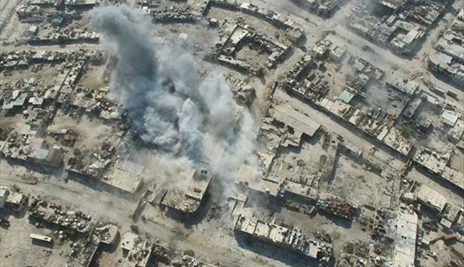 Aerial PHOTOS Show Syrian Army Fierce Clash with Militants in Southern Aleppo