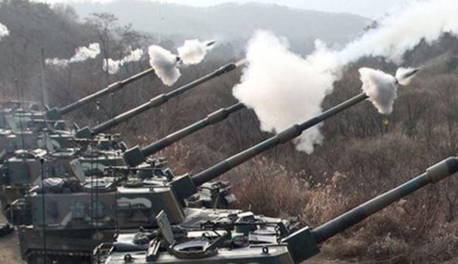 Pics: South Korea Stages Largest ever Artillery Drills near North Korea Border