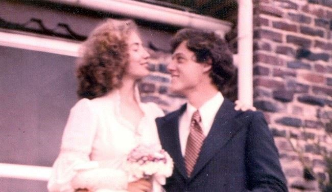PHOTOS: Hillary Clinton's Cute Throwback Wedding Pic for Bill's 70th Birthday