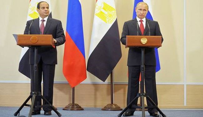 Egypt's President Sisi Says Putin Ready to Host Middle East Peace Talks