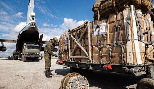 Russia Delivers 20 Tons of Humanitarian Aid to Syria's Deir ez-Zor