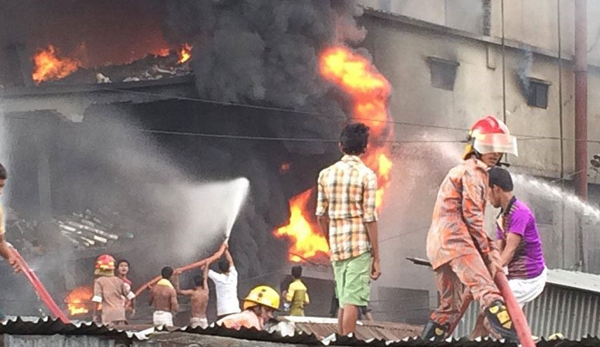 At Least 11 Killed and 19 injured in Bangladesh Tongi Factory Huge Fire