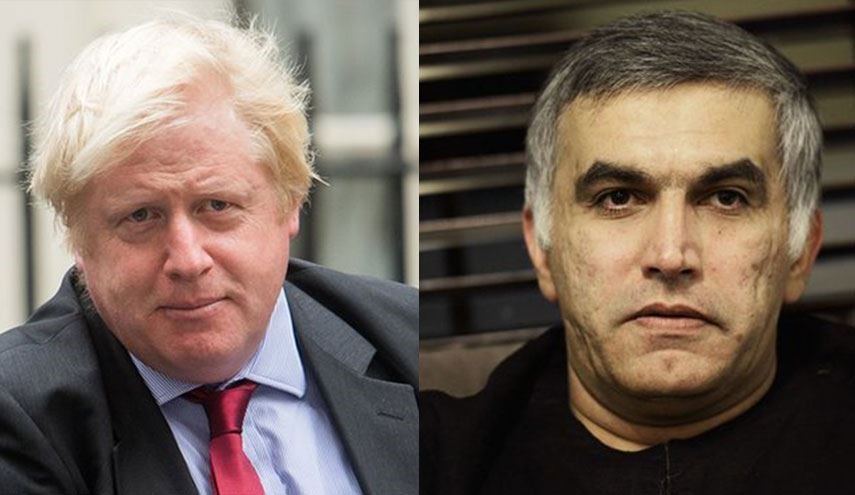 UK FM Urged Call for Release of Bahraini Campaigner Nabeel Rajab