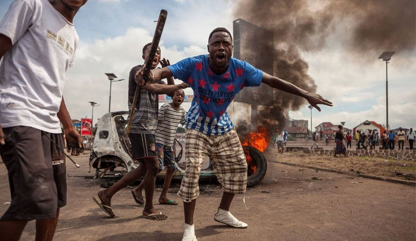 DR Congo Unrest: HQs of 2 Opposition Parties Torched