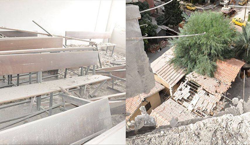 PHOTOS: Rocket Attacks by Terrorists on Residential Neighborhoods in City of Homs