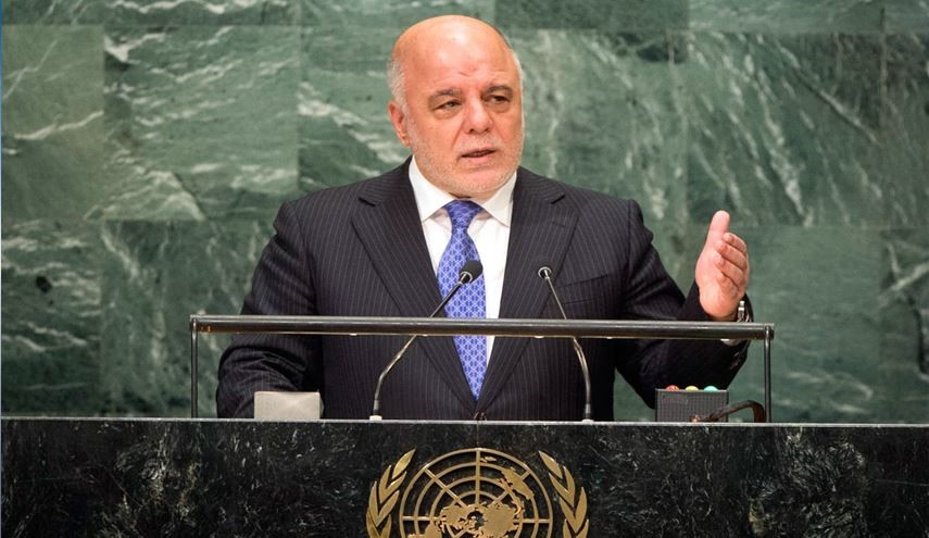 Iraq' PM Abadi Calls on Turkey Army Troops to Leave Iraq Soil