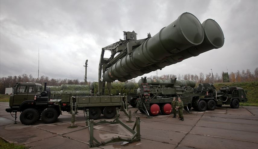 First S-400 Missile Launch Exercise by Russian Central Military District