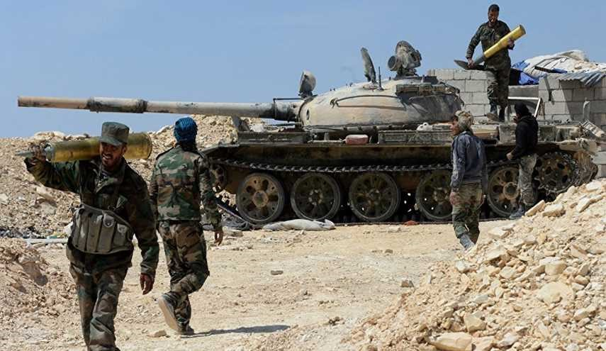 Syrian Army Troops Purge Terrorists from Town in Hama Province
