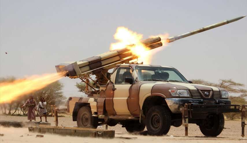 Yemen's Army Begins Rocket Attack at Saudi Mercenaries' Positions