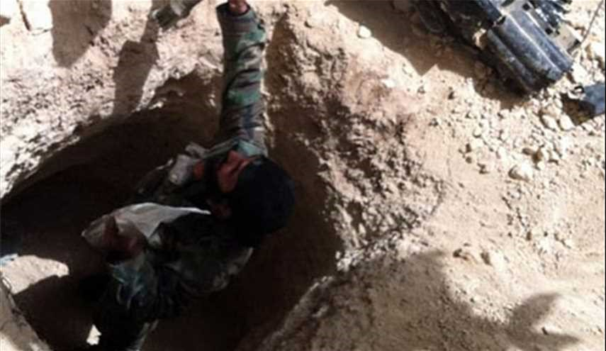 Syrian Army Destroys Terrorists' Long Tunnel in Eastern Damascus