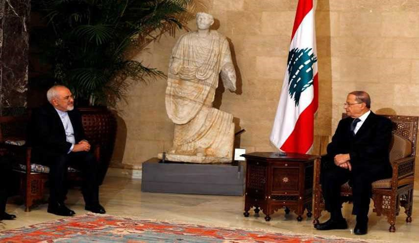Iran's Foreign Minister Meets Lebanese New Elected President