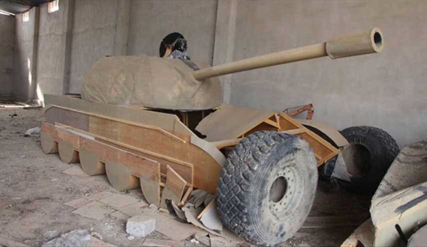 PHOTOS: ISIS's Fake Vehicles in Mosul to Deceive Coalition Warplanes