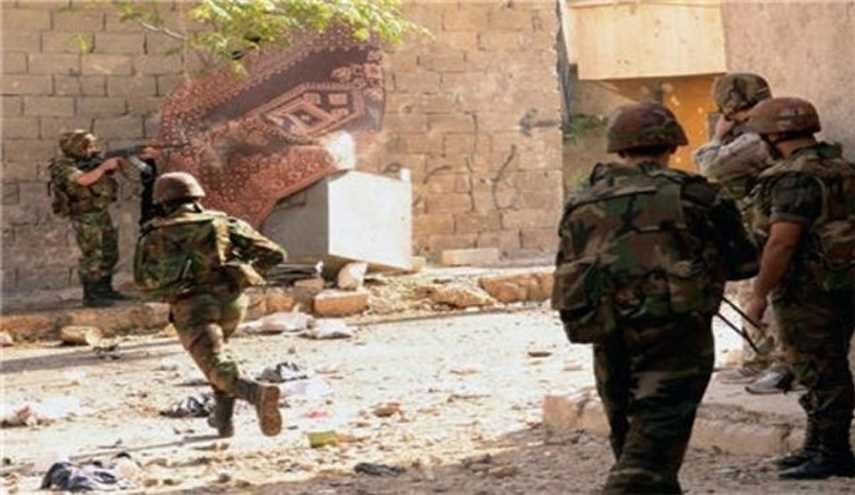 Latest Development Battlefield of Syrian Army's Fighting