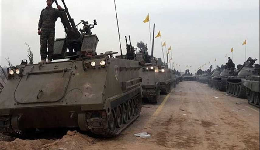 PHOTOS: Hezbollah Shows Military Might in Unprecedented Large-Scale Parade near Damascus