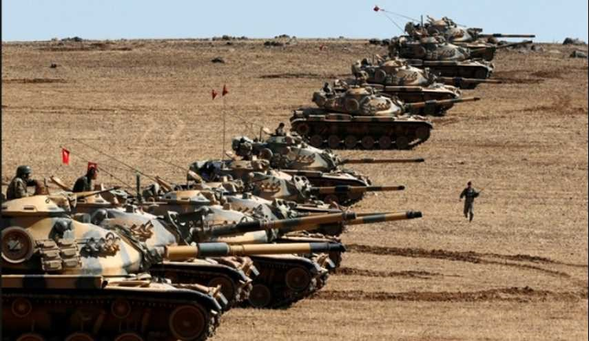 90 Tanks of Turkish Army Deployed in Northern Syria