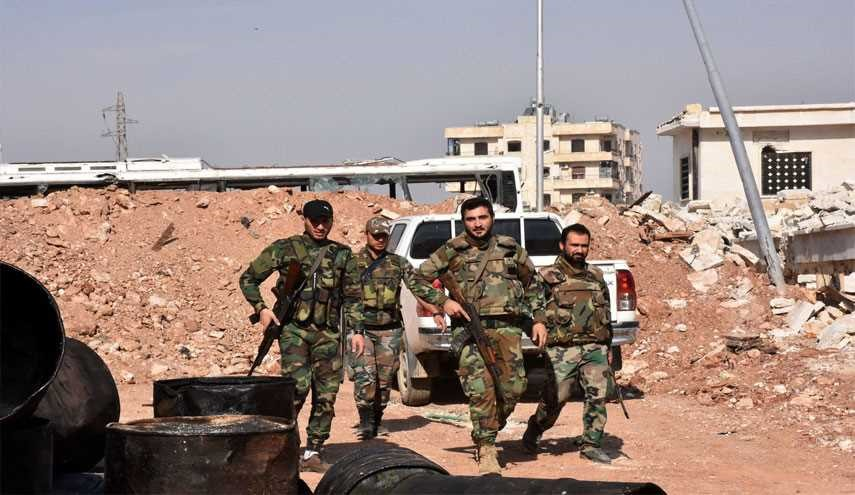 Syrian Army Continues Targeting Terrorists' Positions, Kills Scores of Them