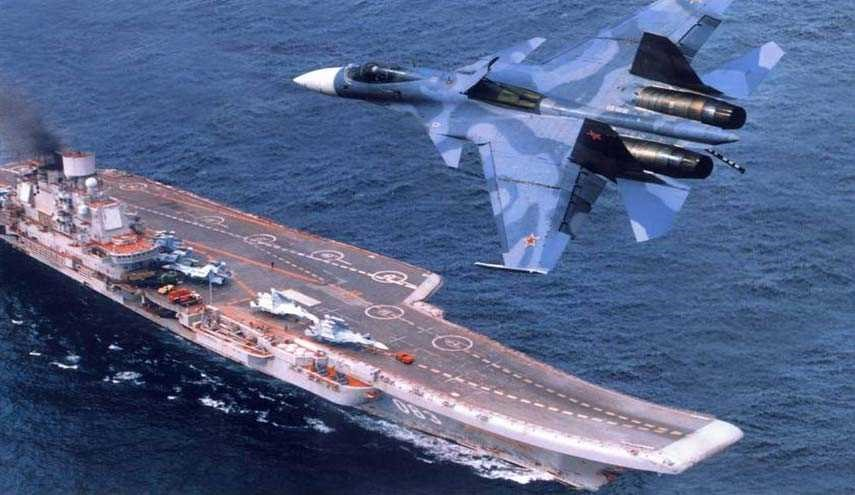 Russia Equips Fighter Jets on Kuznetsov Carrier with Cutting-Edge Guidance System
