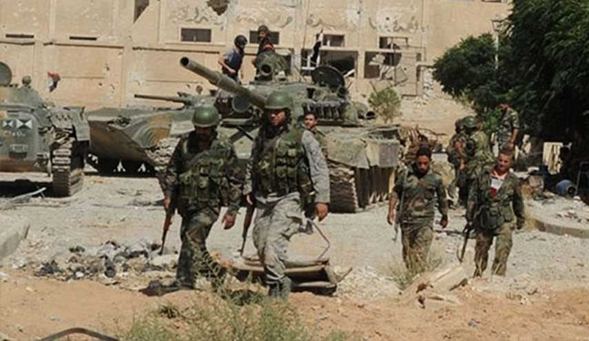 Syrian Army Extends Chain of Security in Damascus Province