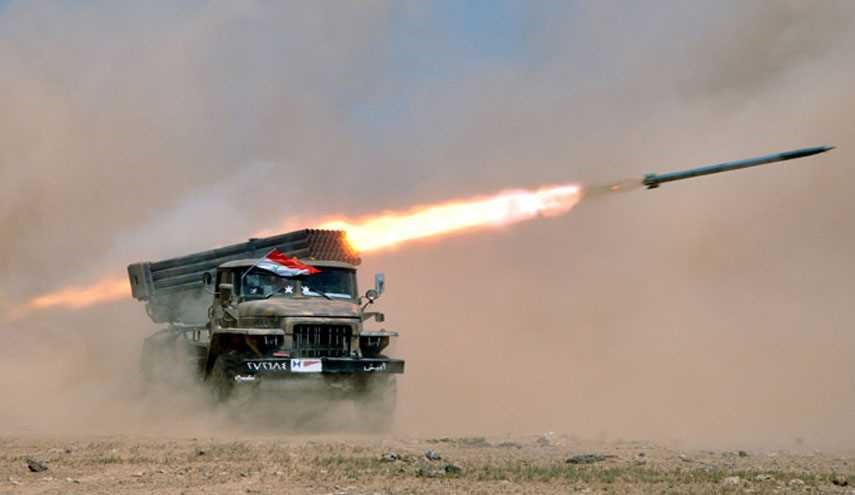 Syrian Army's Artillery Fire Inflicts Major Losses on Terrorists near Kuweires Airbase