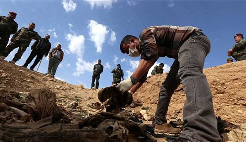 MOSUL MASS GRAVE: Another one Containing 200 Bodies Unearthed