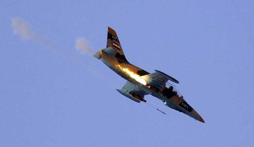 Syrian Warplanes Hit Terrorists' Centers in Hama, Idlib Provinces