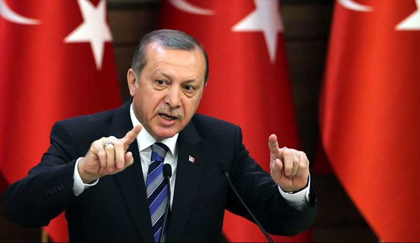 Erdogan Turkish President Says EU Taking Side with Terrorist Groups