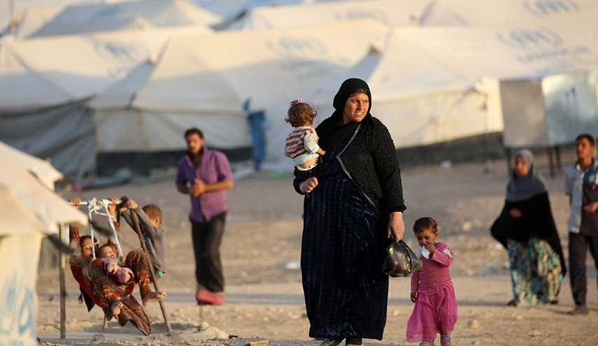 Over 73000 Iraqis Flee Mosul to Refugee Camps: IOM