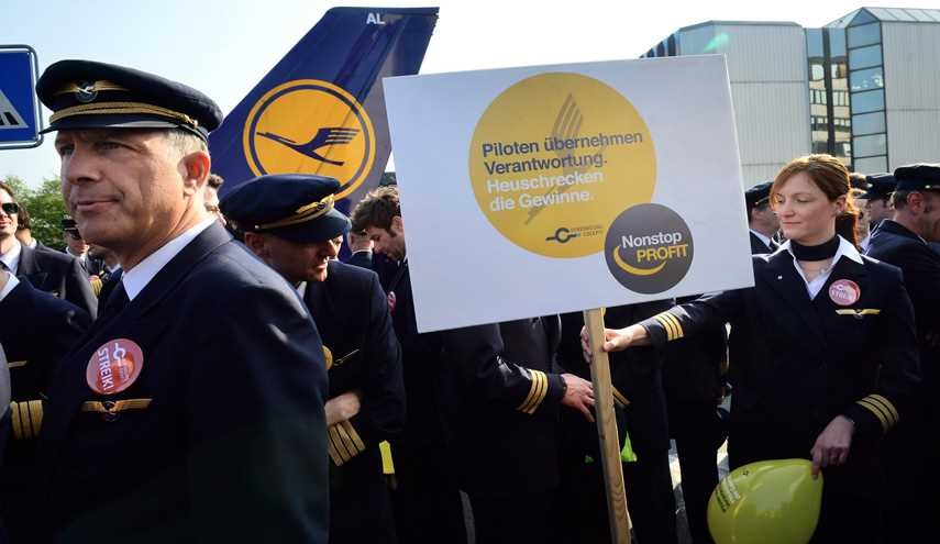 Hundreds of Flights Grounded as Lufthansa Pilots Strike