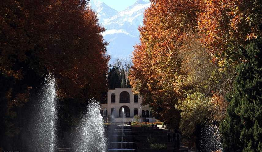 Watch Magics of Fall's Colors in Iran's Shazdeh Garden