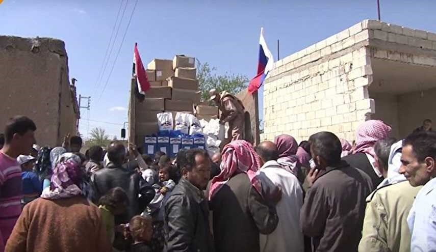 Russia Delivers Over 5 Tonnes of Humanitarian Aid to Syria