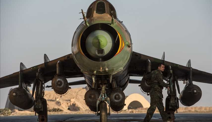 Attacks on Terrorist Centers Intensified by Syrian Air Force in Hama, Idlib