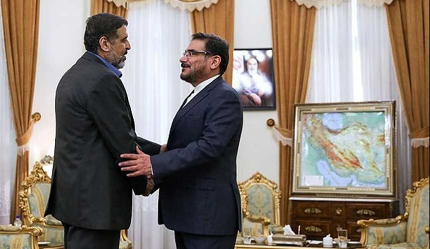 Shamkhani, senior Palestinian official meet in Tehran