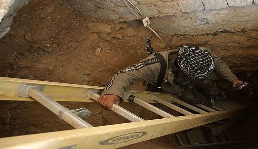 Iraqi Hashd al-Shaabi Forces Discover ISIS' Tunnel, West of Mosul