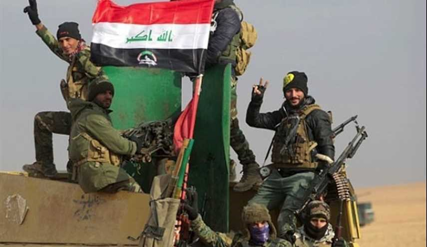 Iraqi Popular Forces in Battle with ISIL Terrorists, West of Mosul