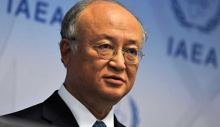 Amano Appreciates Iran for Implementing N. Deal