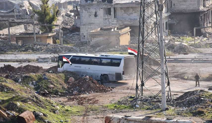 4 New Buses Carrying Foua and Kafariya's Civilian Reached Aleppo