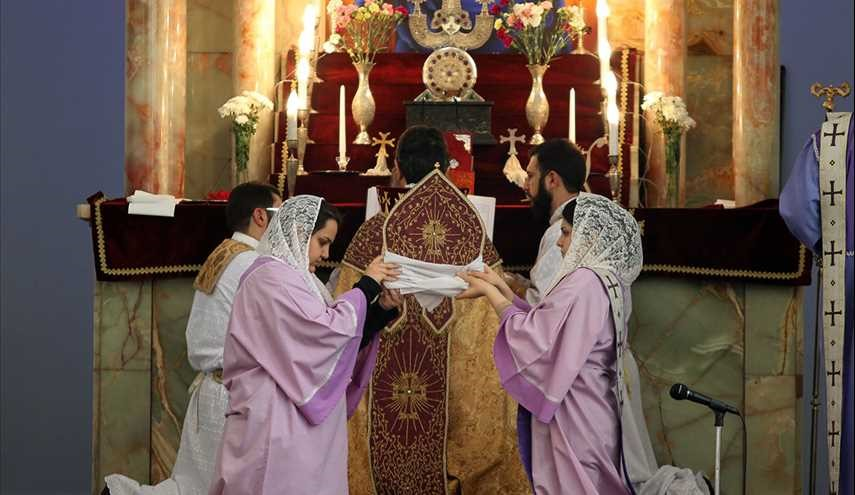 Sunday Mass in Tehran