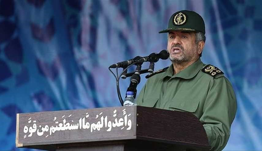 "IRGC Commander Says ""Security"" is Most Factor for Progress, Growth"