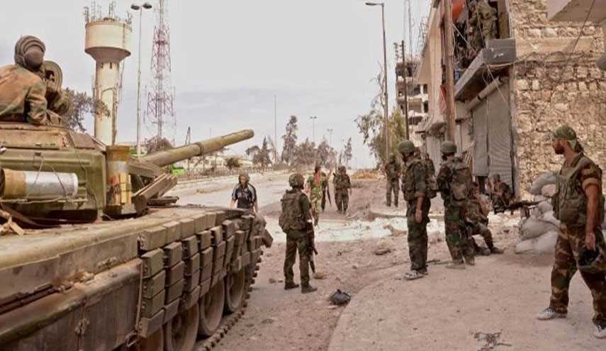 Syrian Army Increases Pressure To Retake Key Area Near Capital