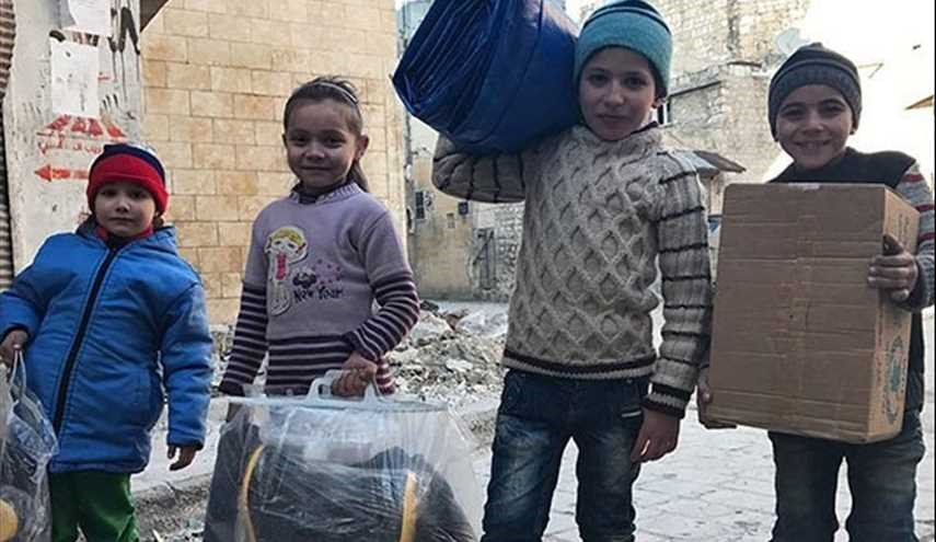 45 Tons of New Year Presents Sent to Syrian Kids