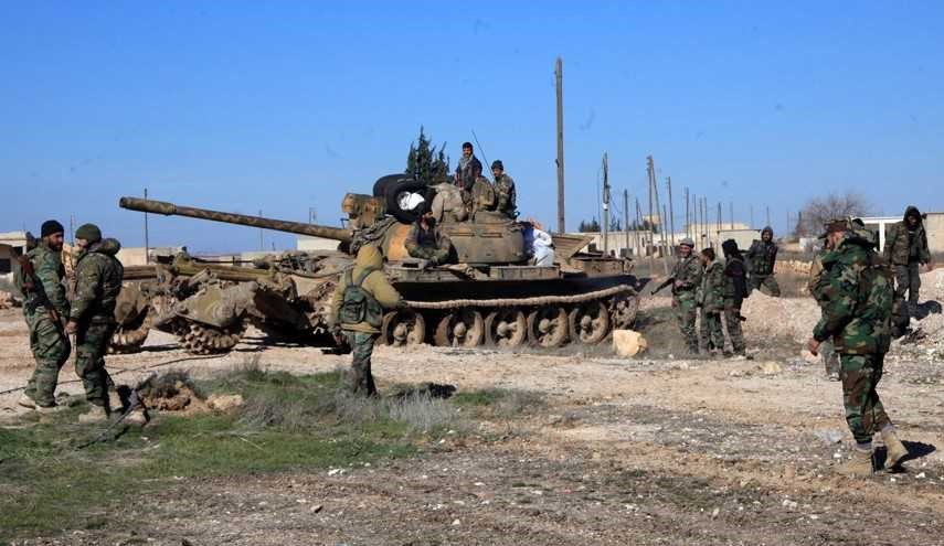 Syrian Army Soldiers, Allies Establish Control over Region West of Palmyra City
